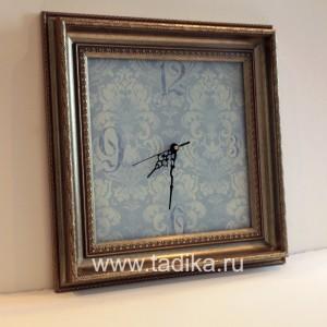 Часы Классика голубая-2